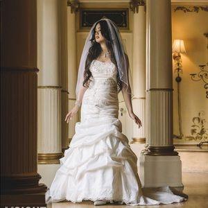 Alfred Angelo Disney Princess Ariel Wedding Dress